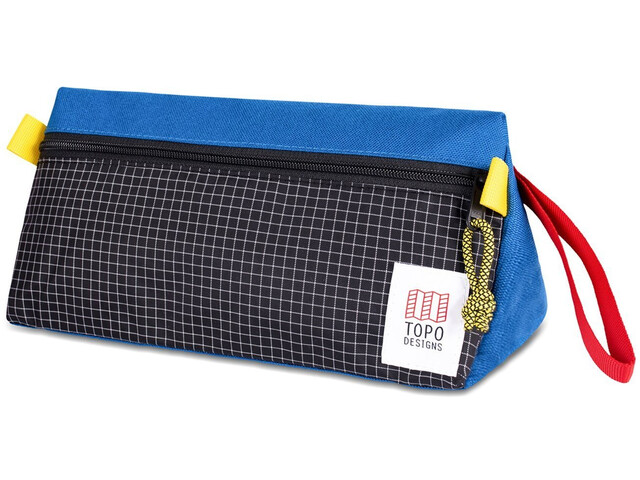 Topo Designs Dopp Kit, blue/black ripstop